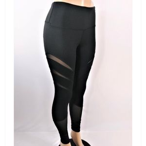 Yogalicious Leggings with Mesh Accents